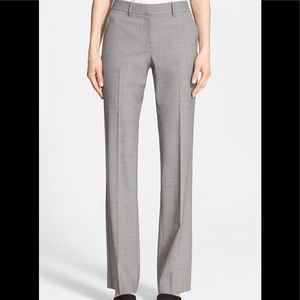 Theory Custom Max Stretch Light Grey Pants